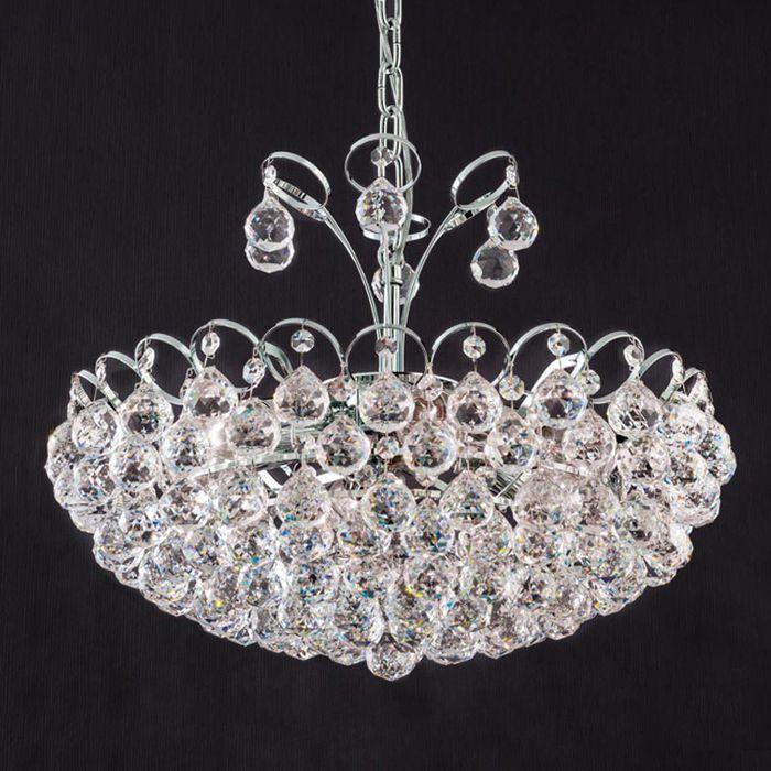 Klassische Kristall Hängeleuchte Auguste, 55 Cm Jetzt Bestellen Unter: ...