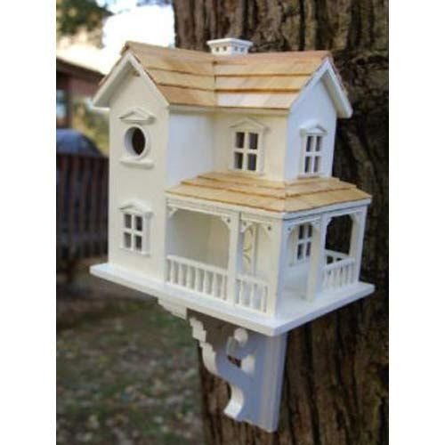 Prairie Farmhouse Birdhouse Home Bazaar Birdhouses Bird Feeders & Birdhouses Outdoor