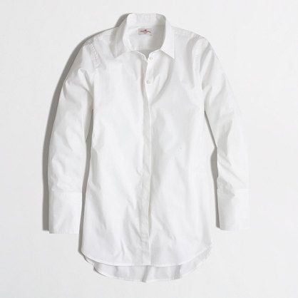 <ul><li>Cotton/spandex.</li><li>Long sleeves.</li><li>Button placket.</li><li>Machine wash.</li><li>Import.</li></ul>