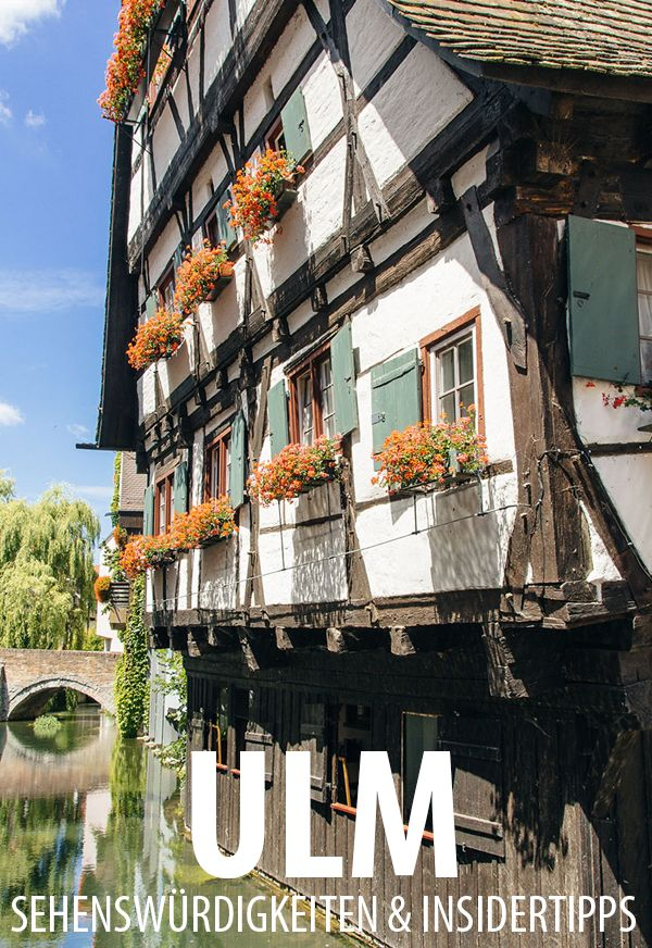 Eine Städtereise nach Ulm: Sehenswertes, Kulinarisches und Geheimtipps für das hübsche kleine Städtchen an der Donau.