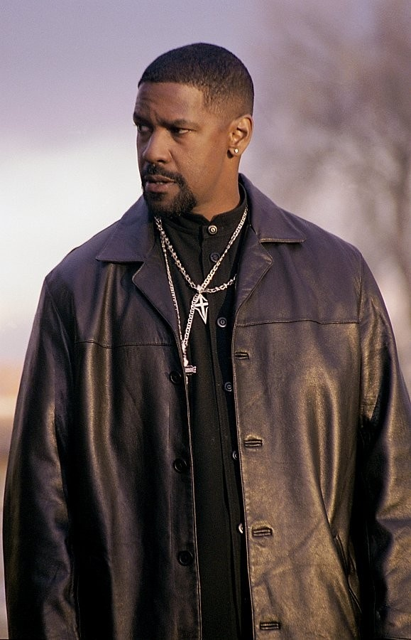"""Denzel Washington from """"Malcolm X"""", """"John Q"""", """"Glory"""", """"The Book of Eli"""", """"Training Day"""", """"American Gangster"""", """"Man on Fire"""", """"Safe House"""", """"2Guns"""", """"Flight"""", """"Remember the Titans"""" and """"Unstoppable""""."""