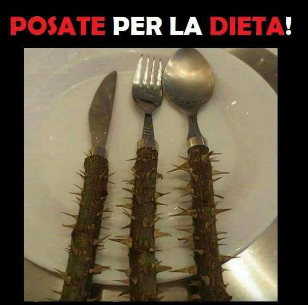 Posate per la dieta .....