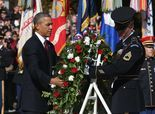 "Obama: ""We will never forget our veterans"""
