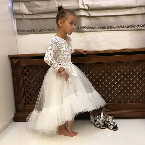 Girls White lace blouse, ivory lace blouse, girls blouse, girls shirt, toddler blouse, white lace shirt, bridesmaids blouse, Christmas gift for a girl. Only for real princess! Perfect to wear! In this outfit, a girl will look very chic on birthday, wedding, bridesmaid, baptism,