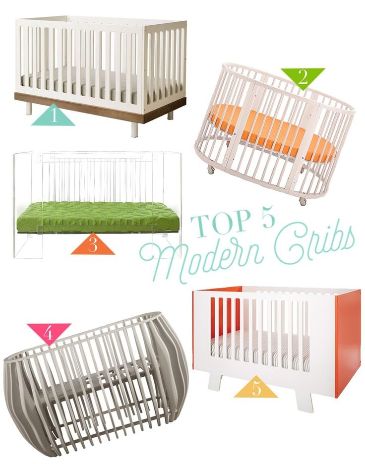Top 5 Modern Cribs — Lily and Spice Interiors
