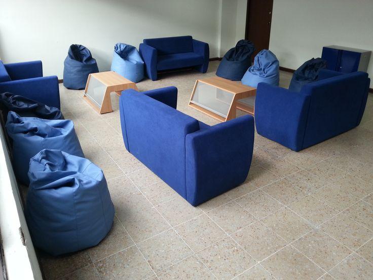 Sala de ocio  #diseño #design #geometricamodular #furniture