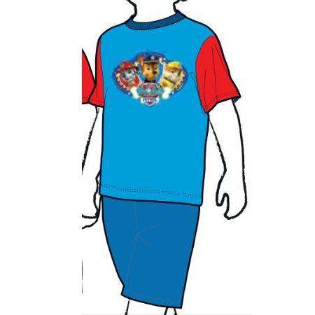 Paw Patrol Pijama T4 marino corto patrulla canina #regalo #arte #geek #camiseta