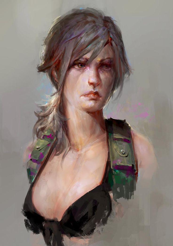 Quiet (Metal Gear Solid 5) Daniel Kamarudin Painting & Airbrushing 2016