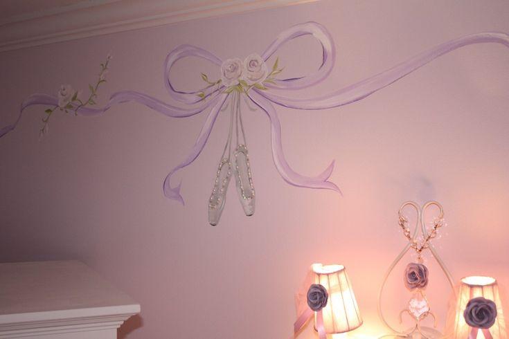 Elegant ballerina room