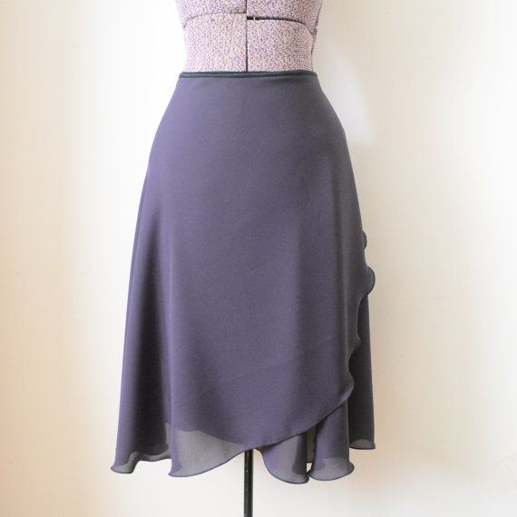 Rehearsal wrap skirt  Long ballet skirt  by ReverenceDancewear