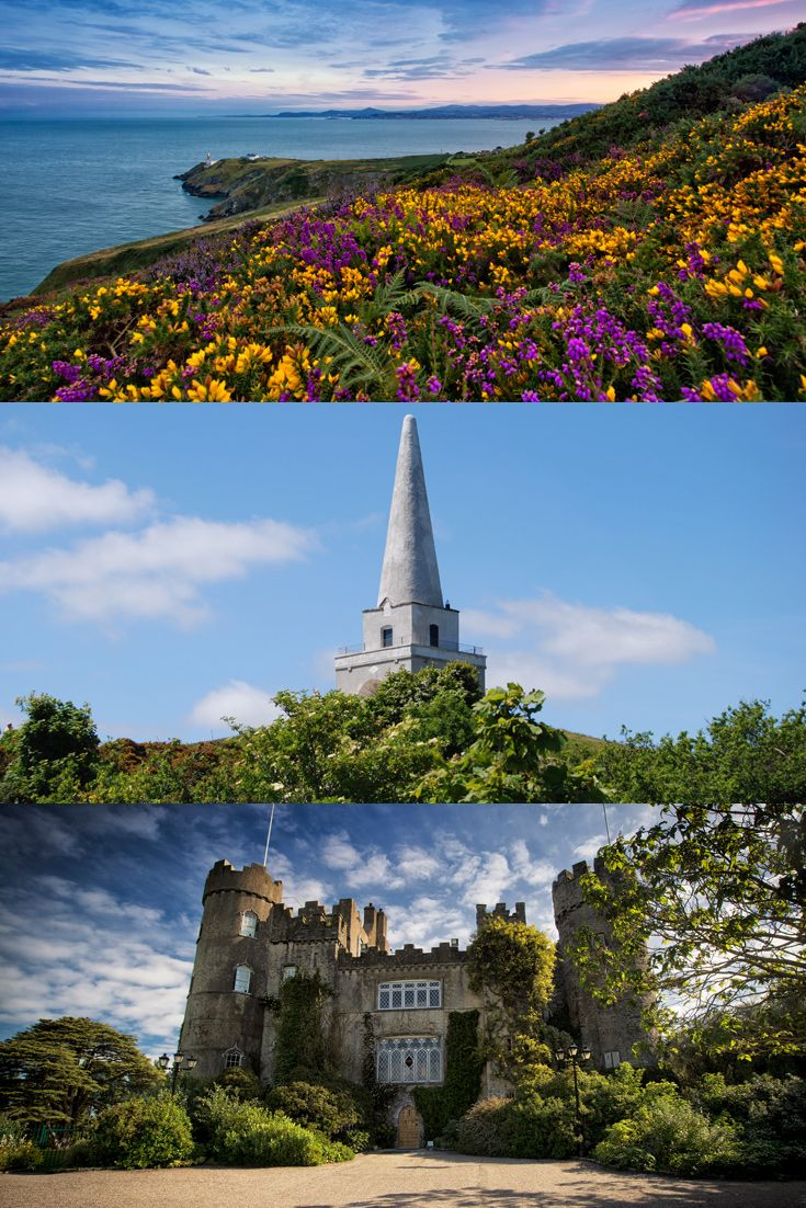 Dublin Bay, Dalkey Island, Malahide Castle… There's so much more to Dublin than the bright lights of the city.
