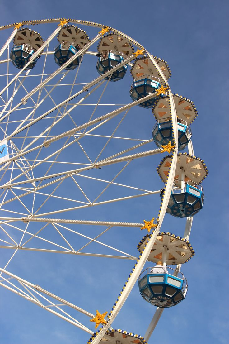 Ferris wheel in Leiden - Reuzenrad in Leiden