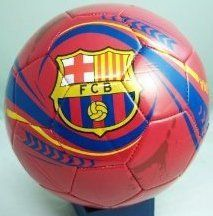 FC Barcelona Soccer Ball-Home (Silver, 5) by Rhinox. $19.93. Size 5. Officially Licensed. Made of Non-Toxic PVC. Officially licensed Barcelona merchandise.  Highly quality PVC cover.  Perfect to display in any case or on any shelf.