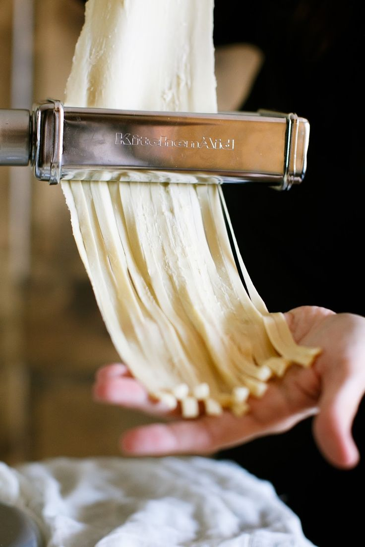 Learn how to make homemade pasta – in minutes! It's fresh, easy & tastes inc…