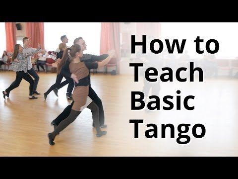 Tango Basic Routine 1 0:05 2 Walks SS Progressive Link QQ Closed Promenade SQQS 0:51 2 Walks SS Progressive Link QQ Closed Promenade SQQS Basic Reverse Turn ...