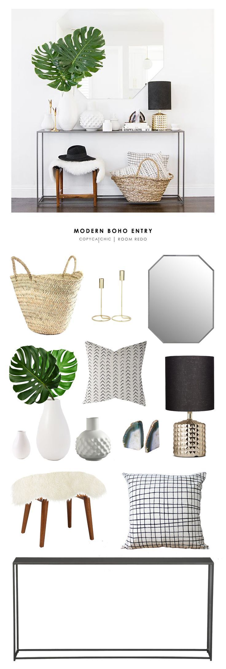cool TOTAL | $1,198 CONSOLE $299 | STOOL $96 | BASKET $22 | MIRROR $300 | BOOKENDS...
