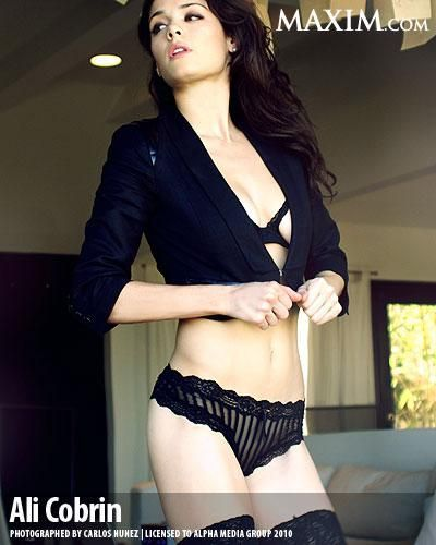 Ali Cobrin - Maxim Photoshoot