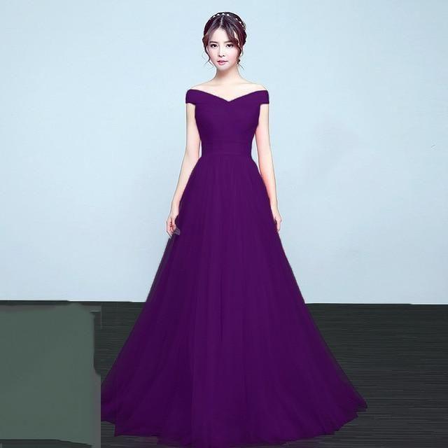 b0634686060 It s Yiiya bridesmaid dresses Elegant long wedding party dress Plus size  royal blue bridesmaid dress Tulle Robe Soiree DSYA003-JetSet-JetSet