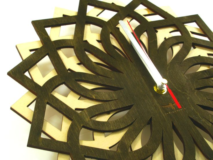 #clock #indigovento #wood #wood clock #wooden clocks #Wooden wall clock #Handmade #Handmade Wall Clock
