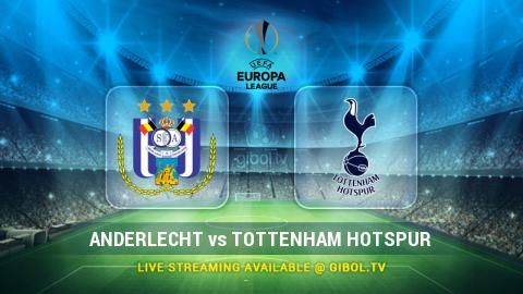 Anderlecht vs Tottenham Hotspur (22 Oct 2015) Live Stream Links - Mobile streaming available
