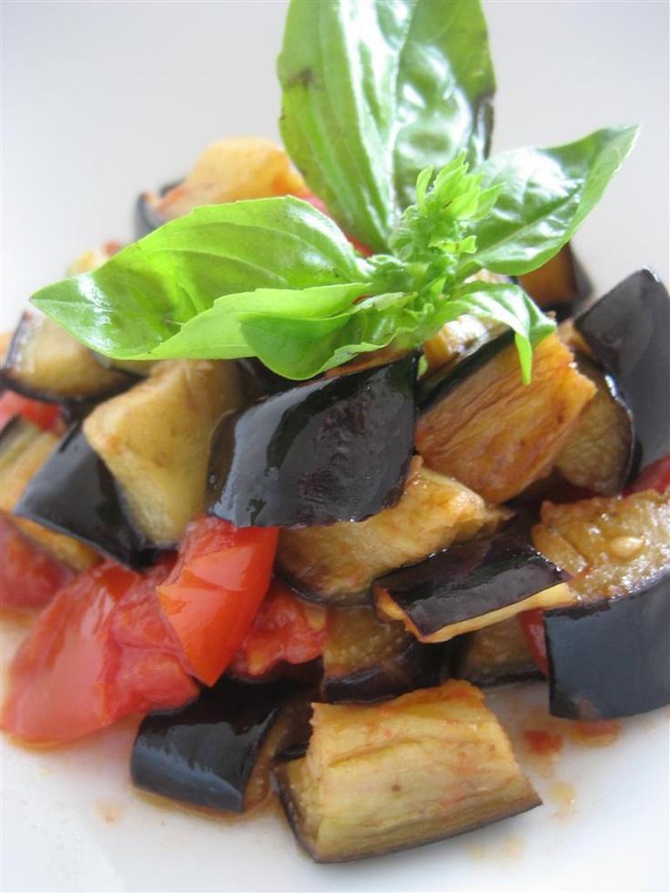 Presentazione melanzane a funghetto  http://www.ledolciricette.it/2012/10/12/melanzane-a-funghetto/6543#