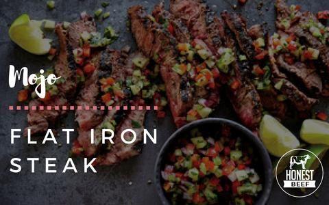 Honest Beef Mojo Flat Iron Steak