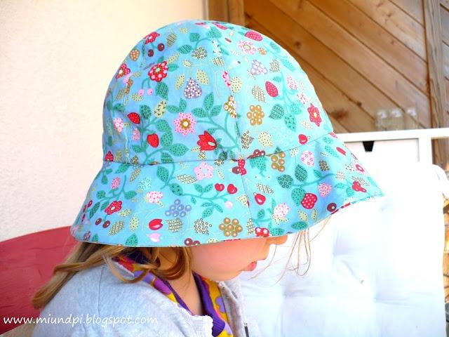 Sommerhut, kostenloser Ottobre-Schnitt | Kinderkleidung nähen ...