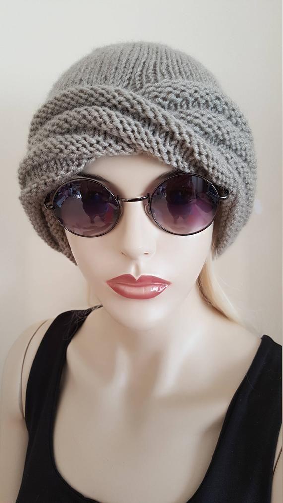 7f00e7119e998 Turban fashion turban knit hat womens winter hat twisted