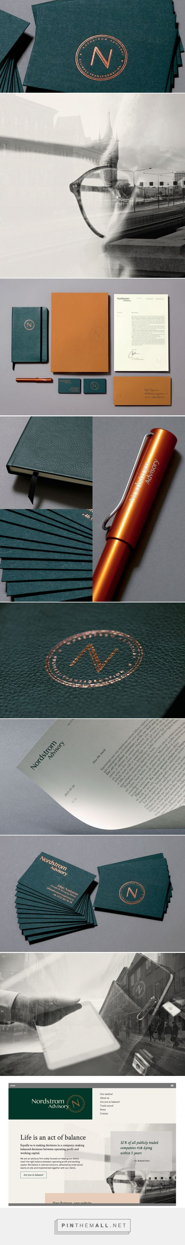 Nordstrom Advisory Branding by Sunny at Sea | Fivestar Branding Agency – Design and Branding Agency & Curated Inspiration Gallery