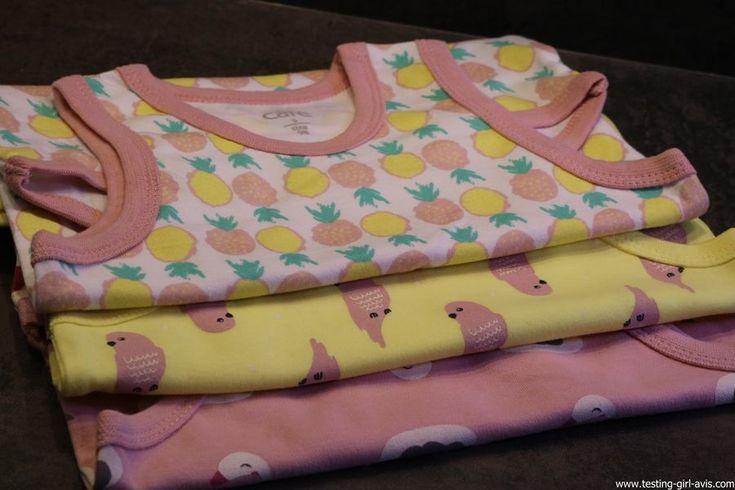 Les bébés filles seront toutes mignonnes cet été avec les bodys Bable de Care