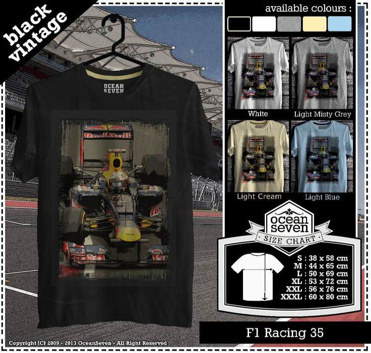 Kaos Balap F 1 | Formula One Racing  series 3