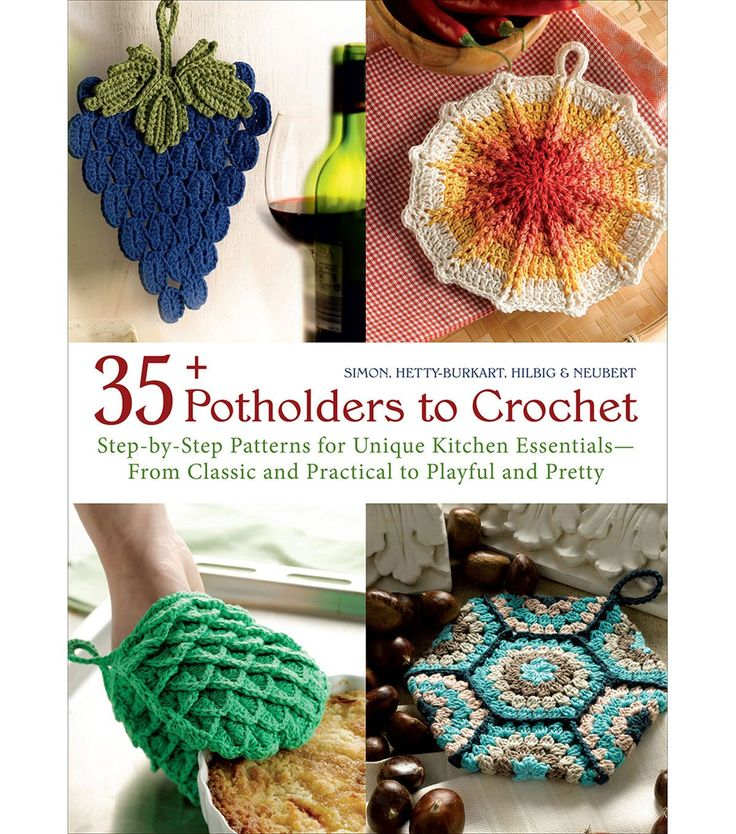 35+ Potholders To Crochet