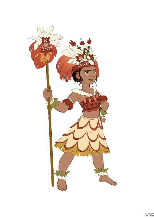 Daughter of a chief. Not a princess. | Moana | Moana ...