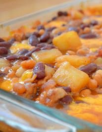 Hawaiian Baked Beans - The ultimate side dish to your favorite dinners | The Savvy Kitchen