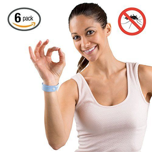 Hoont Natural Mosquito Repellent Citronella Wristband  Pack of 6  Powerful Natural Oils Mosquito Protection  Comfortable MicroFiber Fabric with Adjustable Snap  Fits All Ages Blue >>> Check out the image by visiting the link.