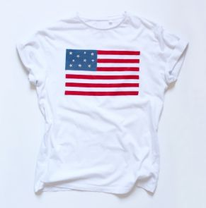 Tutoriel/ DIY : Le T-shirt drapeau américain - Autres bricoles - Pure Loisirs - How to customize a T-shirt with an american home made flag ?