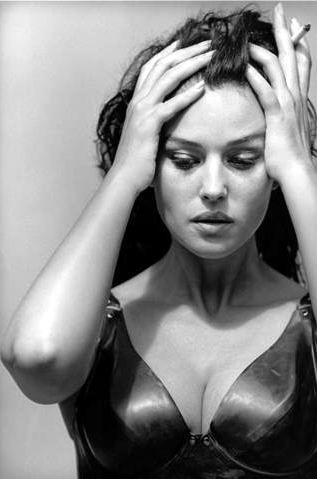 Monica Bellucci par Peter Lindberg