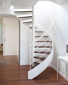 25 best ideas about escalier droit on pinterest escalier design escalier - Escalier colimacon castorama ...