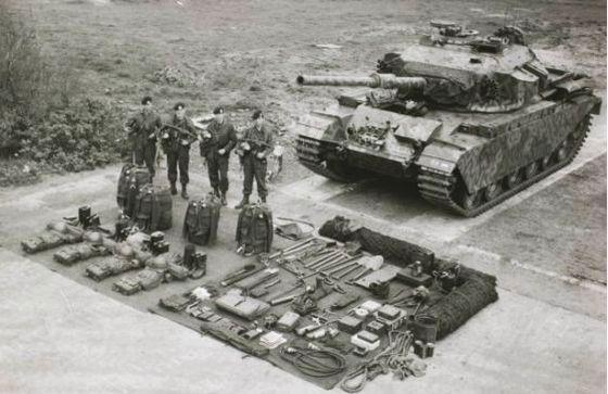Dutch Centurion tank