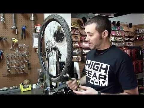 How to plug a tubeless tire system - YouTube