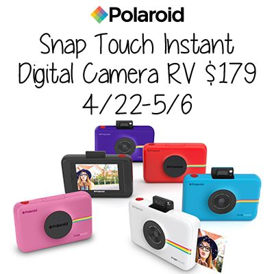Polaroid Snap Touch Instant Digital Camera Giveaway ~ Tales From A Southern Mom