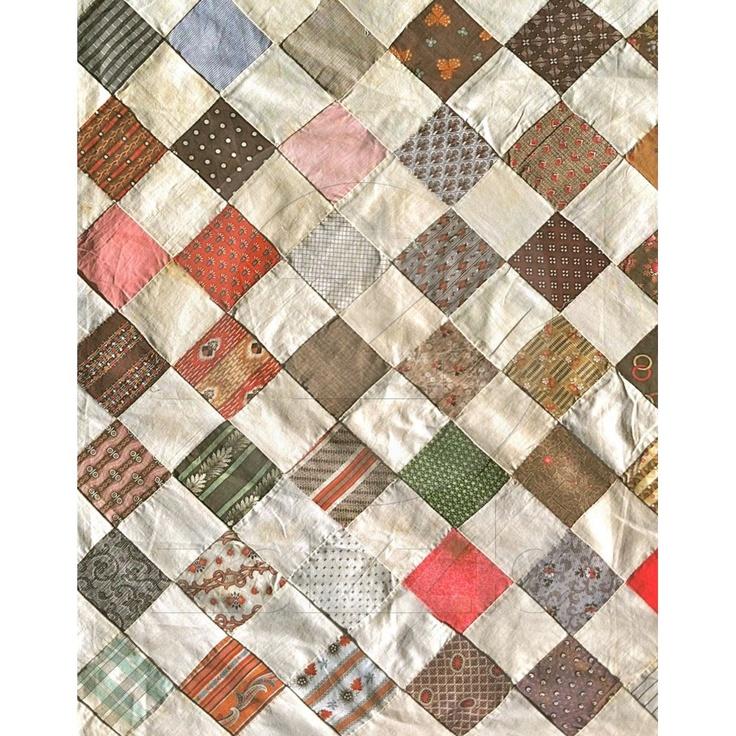 1880s vintage patchwork quilt.