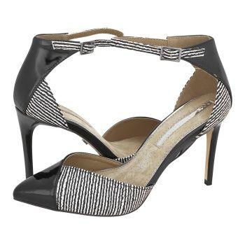 Δες το παπούτσι: γόβες μυτερές σε χρώμα μαύρο ριγέ μάρκας maria mare στο opo.gr