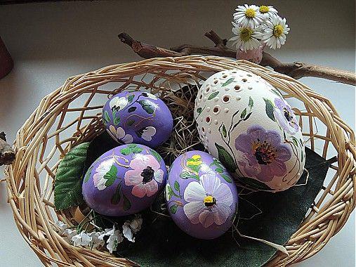 Kolekcia fialových kraslíc by Cecil - SAShE.sk - Handmade Veľká Noc