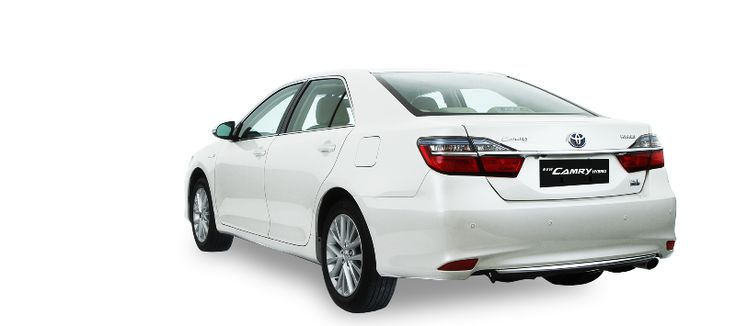 New Camry Hybrid - Rear View - AUTO2000