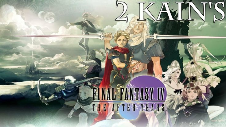 Final Fantasy IV: The After Years Walkthrough Part 2 (Kain's Tale) [HD]