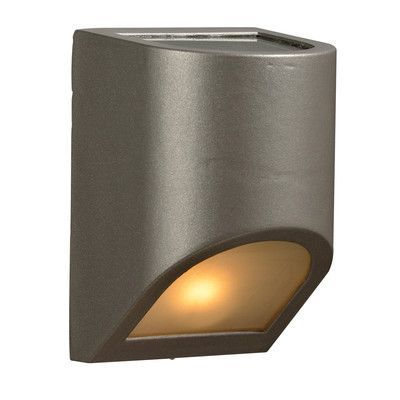 PLC Lighting Perry 1 Light Outdoor Flush Mount Finish: Bronze, Bulb Type: 60W A19 incandescent bulb (not included)