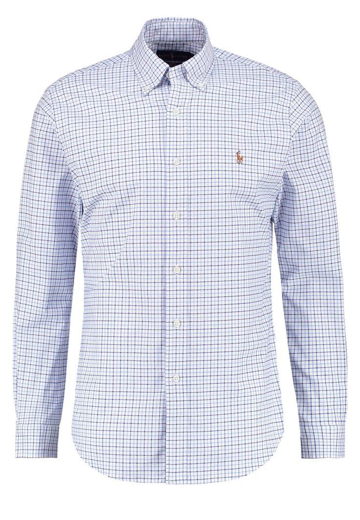 Polo Ralph Lauren SLIM FIT Hemd blue/white Premium bei Zalando.de | Material Oberstoff: 98% Baumwolle, 2% Elasthan | Premium jetzt versandkostenfrei bei Zalando.de bestellen!