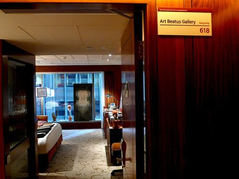 Place your art collection in a hotel room!  Art Beatus participated in Asia Top Gallery Hotel Art Fair 2012.