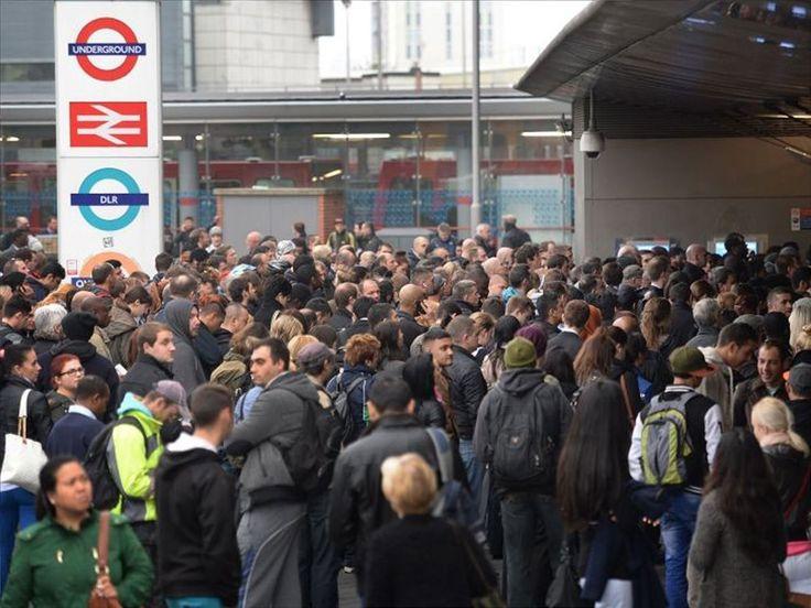 Οι Λονδρέζοι επέδειξαν «μαχητικό πνεύμα» την πρώτη ημέρα απεργίας στο μετρό